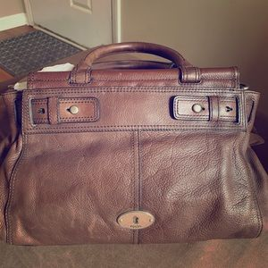 Fossil Leather Brown Purse